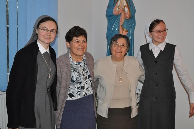 Wizyta Siostry Generalnej