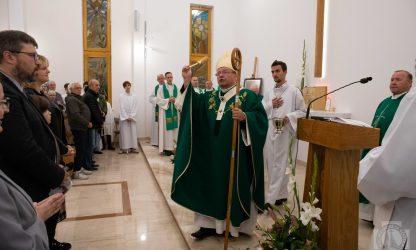 Poświęcenie kaplicy w Konstantynowie Łódzkim
